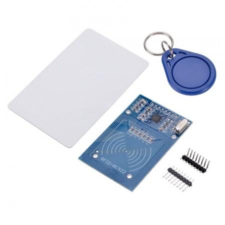 Módulo Leitor RFID-RC522 13,56MHz + Cartão e Chaveiro RFID