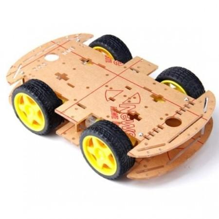Chassi Robô Móvel - 4WD