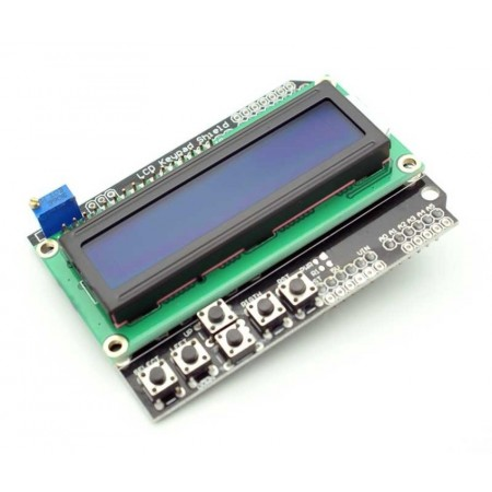 Shield LCD com Teclado para Arduino UNO