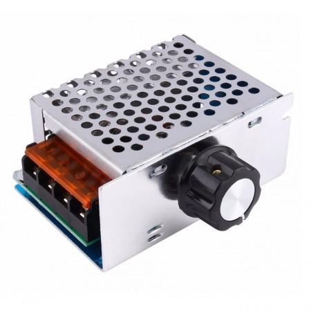 Dimmer Regulador de Tensão AC 4000W 220VAC