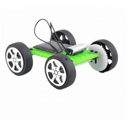 Mini Carro Solar Autônomo com Motor e Painel Fotovoltaico