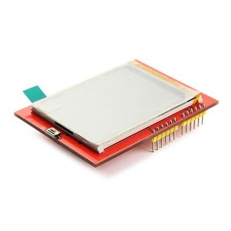 "Display LCD TFT 2.4"" ILI9325 Touchscreen Colorido"