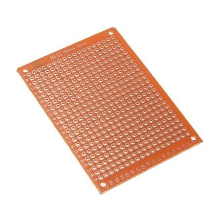 Placa PCB Ilhada Universal Pré-furada 5x7cm