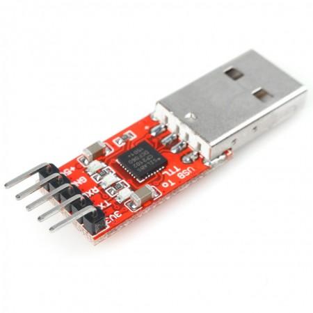 Módulo Conversor Usb Rs232 Ttl Cp2102