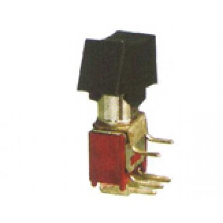 Interruptor tipo gangorra para PCB compatível com SRLS-103-C3H (90º).