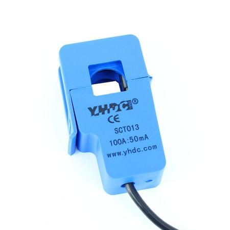 Sensor de Corrente Não Invasivo 100A SCT013 - Saída 50mA