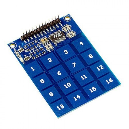 Teclado Digital Touch Capacitivo - 16 Teclas