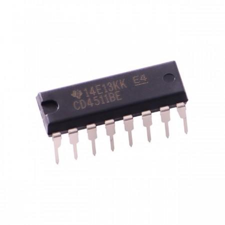 CI CD4511 - Decodificador BCD