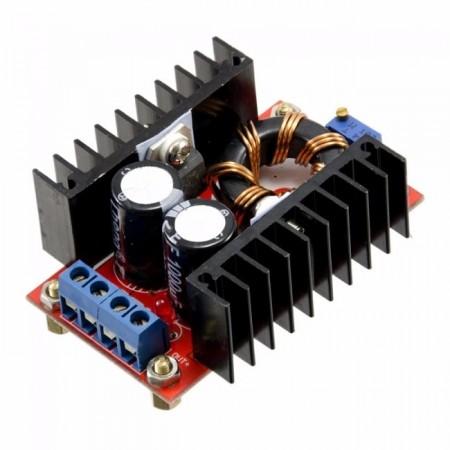 Regulador de Tensão Ajustável / Carregador Boost Step Up  - 12V a 35V (10A 100W)