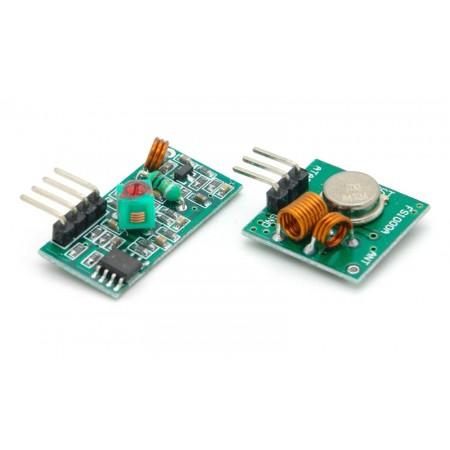 Transmissor e Receptor RF 433MHz