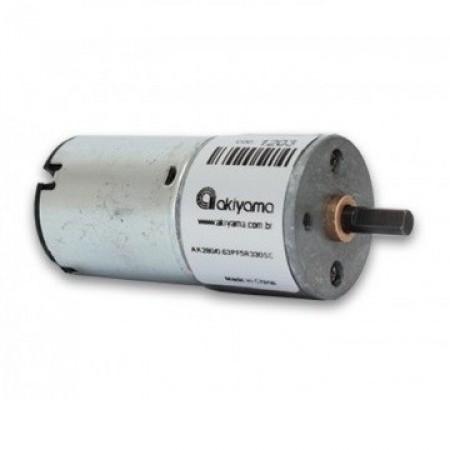 Motor DC com Caixa de Redução 5V / 330rpm AK280/0.63PF5R330SC