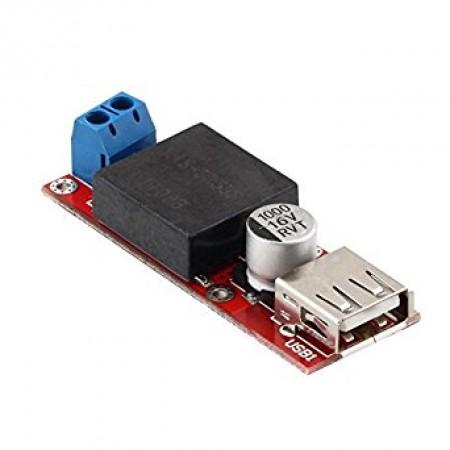 Regulador de Tensão 5V USB / Entrada 7 a 24VDC Step Down - KIS3R33S