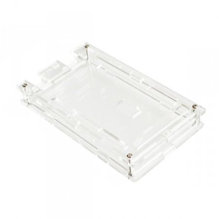 Case para Arduino Mega em Acrílico Transparente.