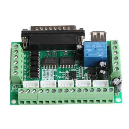 Controladora de CNC Interface Mach 3 Router Até 5 Eixos