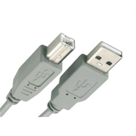 Cabo de Dados USB 2.0 Macho A/B 1,8m