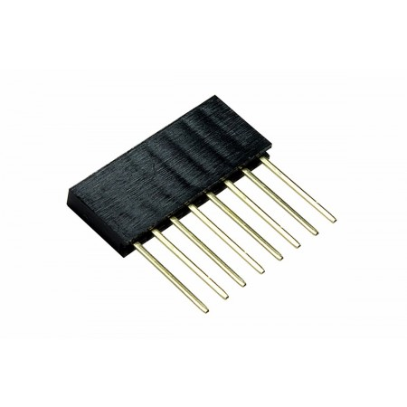 Conector empilhável - 8 pinos
