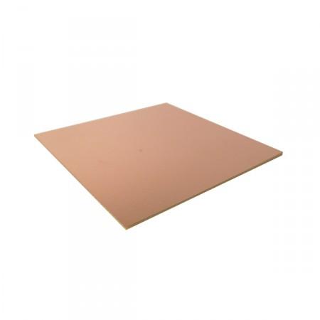 Placa de Fenolite Cobreada Dupla Face 20X15cm