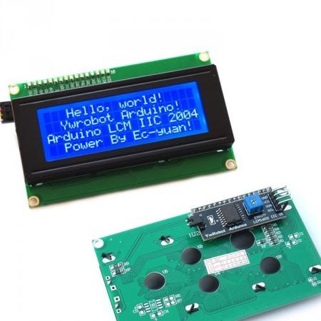 Display LCD 20x4 Azul + Adaptador I2C