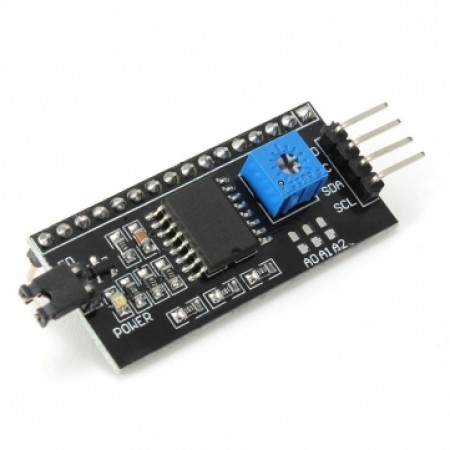 Módulo Adaptador I2C para Display LCD 16x02 e 20x4